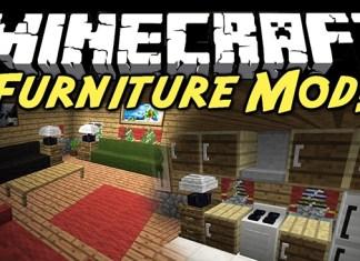 Furniture Mod for Minecraft