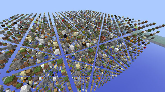 SkyGrid Survival Map for Minecraft