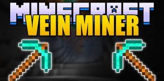 Vein Miner Mod