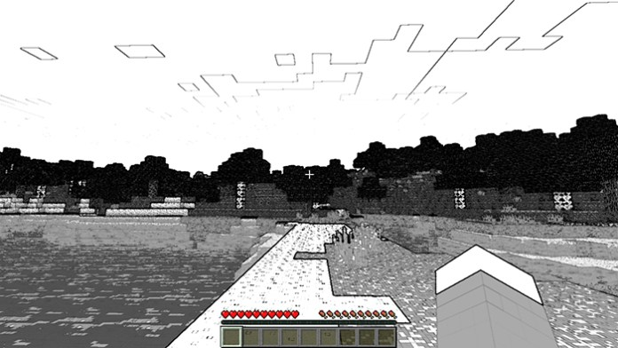 Void Glasses Mod for Minecraft 1.8