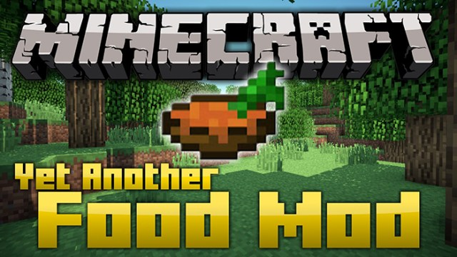 Yet another Food Mod for Minecraft 1.8.3