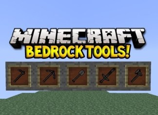 Bedrock Tools Mod for Minecraft 1.8.7