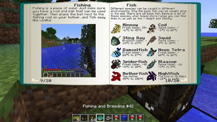 Mariculture Mod for Minecraft