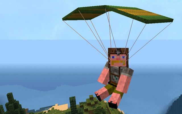 Parachute Mod for Minecraft 1