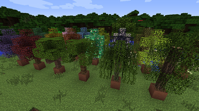 Plant Mega Pack Mod for Minecraft