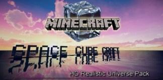 Spacecubecraft Resource pack for Minecraft