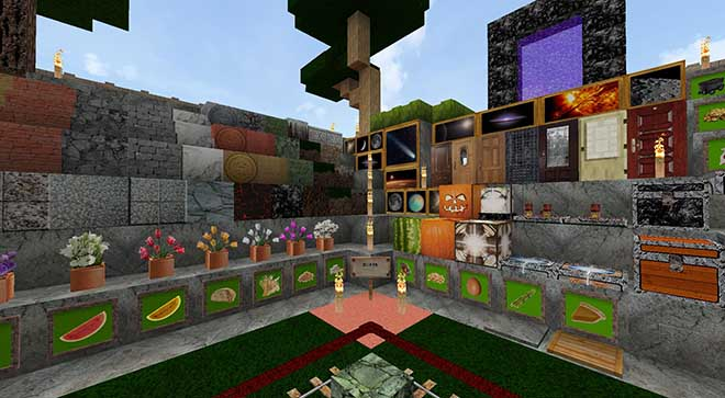 Spacecubecraft Resource Pack for Minecraft