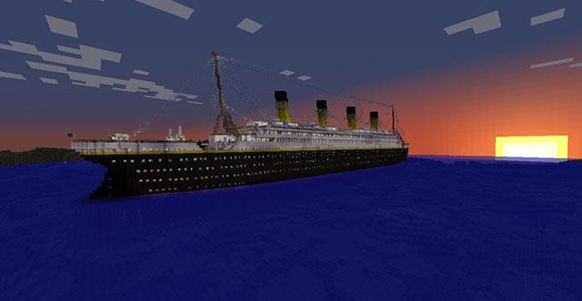 Titanic Map for Minecraft 1