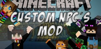 Custom NPCs Mod for Minecraft
