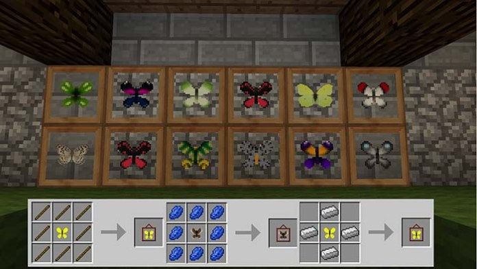 Butterfly Mania Mod for Minecraft