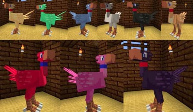 ChocoCraft Mod for Minecraft