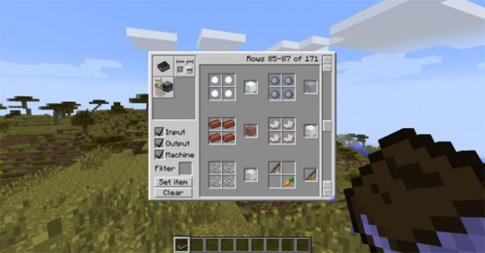 Craftguide Mod for Minecraft 1
