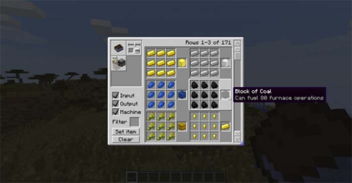 Craftguide Mod for Minecraft
