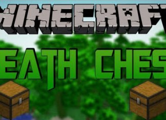 Death Chest Mod for Minecraft