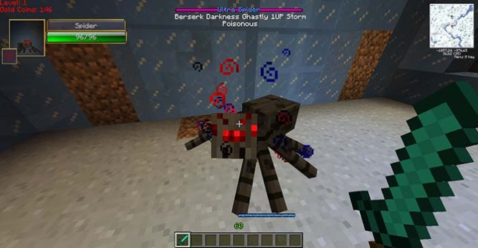 Infernal Mobs Mod for Minecraft