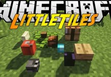 Little Tiles Mod for Minecraft
