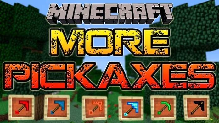 Mo Pickaxes Mod for Minecraft