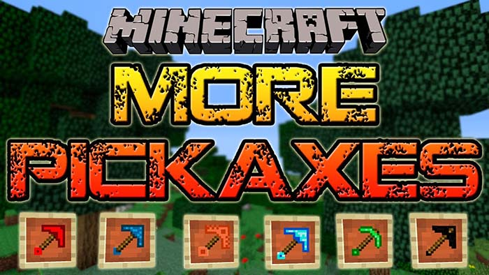 Mo Pickaxes Mod for Minecraft