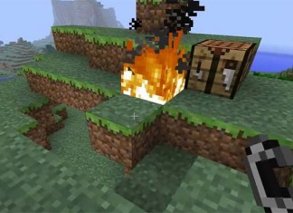 No Fire Spread Mod for Minecraft