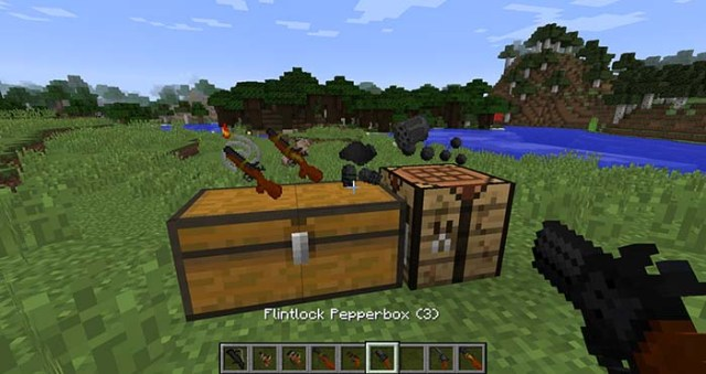 Old Guns Mod for Minecraft