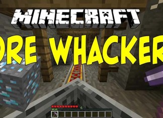 Ore Whacker Map for Minecraft
