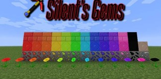 Silents Gems Mod for Minecraft
