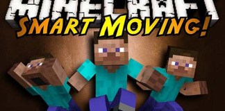 Smart Moving Mod for Minecraft