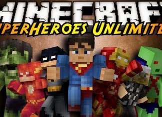 Superheroes Unlimited Mod for Minecraft