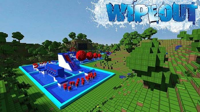 Wipeout Map for Minecraft