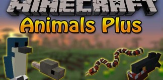 Animals Plus Mod for Minecraft
