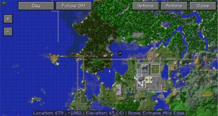 Journey Map for Minecraft