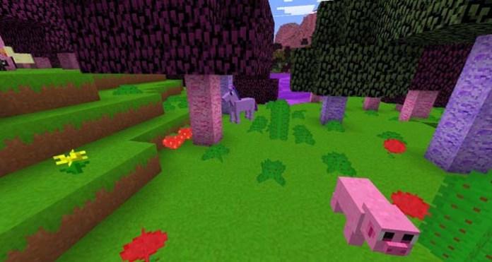 Kawaii World Resource Pack for Minecraft