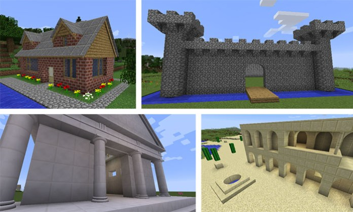 ArchitectureCraft Mod for Minecraft
