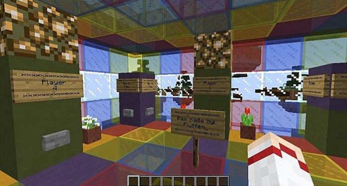 Skywars Minigame Map for Minecraft