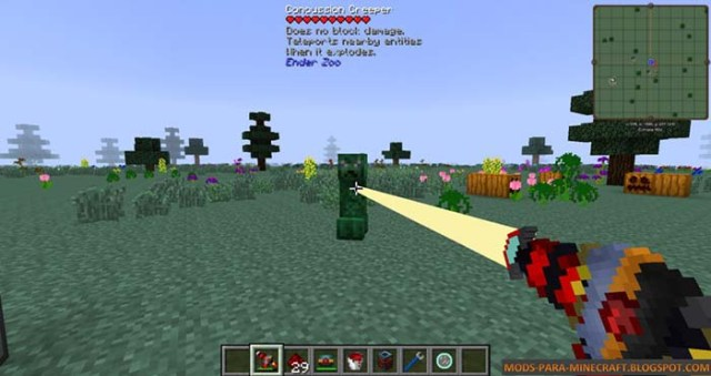 RF Guns Mod for Minecraft