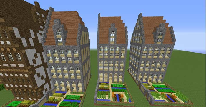 Instant Massive Structures Mod For Minecraft 1 9 1 8 1 7 10