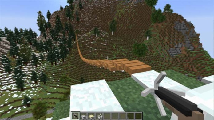 Rope Bridge Mod for Minecraft