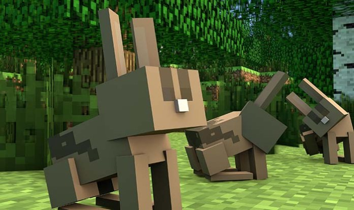 Kill the Rabbit Map for Minecraft