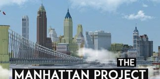 The Manhattan Project Map for Minecraft