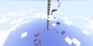 Hyper Elytra Map for Minecraft 1.9