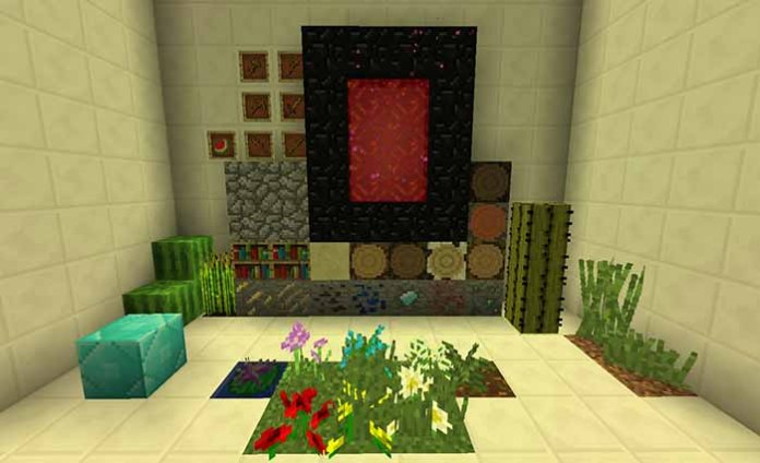 Naturus Resource Pack for Minecraft 1.9