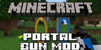 Portal Gun Mod for Minecraft 1.7.10