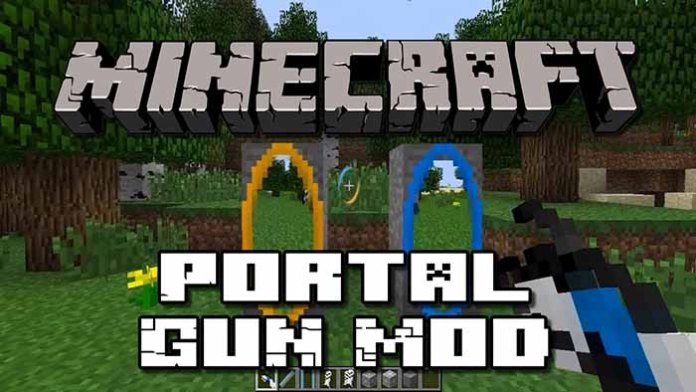 Portal Gun Mod for Minecraft 1.7.10