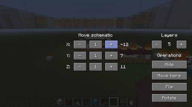 Schematica Mod for Minecraft