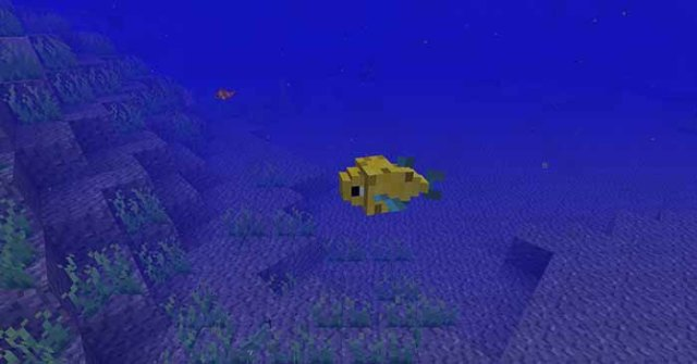 Just a Few Fish Mod for Minecraft