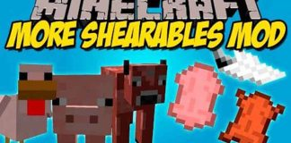 More Shearables Mod for Minecraft 1.8.9