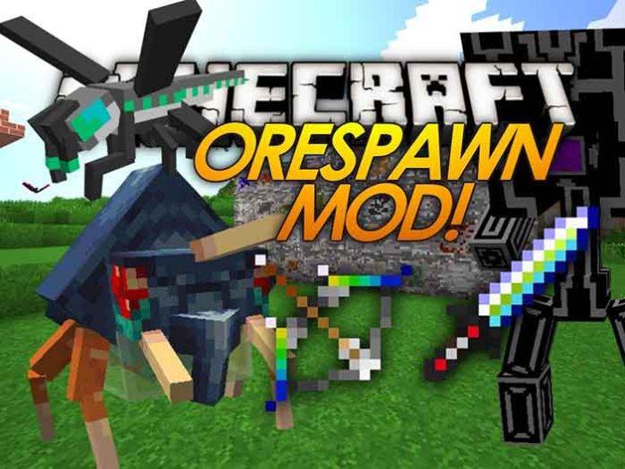 Orespawn Mod For Minecraft 1 7 10 Minecraftside