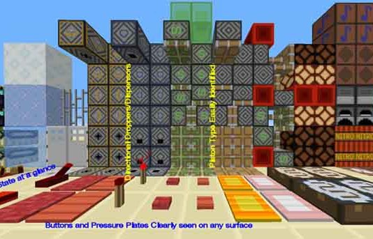 Redstone Utility Resource Pack for Minecraft 1.9