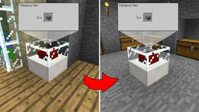 Vanilla Inspired Teleporter Mod for Minecraft 1.8