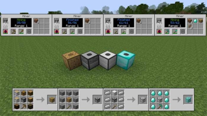 Progressive Automation Mod for Minecraft 1.9